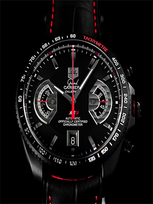36f3d8fbcae The fake TAG Heuer Grand Carrera Calibre RS2 chronograph is the only GT  sport timer concept in history, inspired by the ultra bright KO7 futuristic  sports ...
