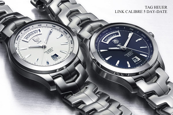 1:1 best quality copy TAG Heuer Link Calibre 5 day-date replica