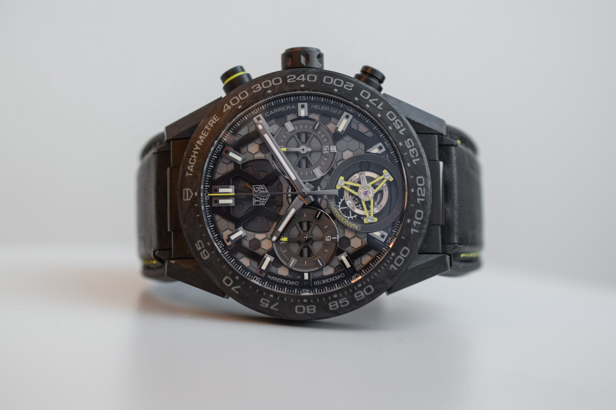 TAG Heuer Carrera Calibre Heuer 02T Tourbillon 45mm Case