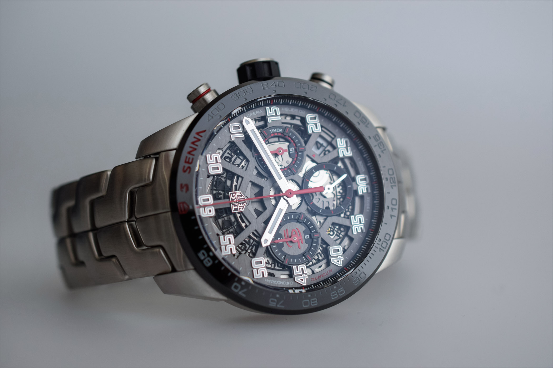 TAG Heuer Carrera Senna Editions with very cool Link bracelet