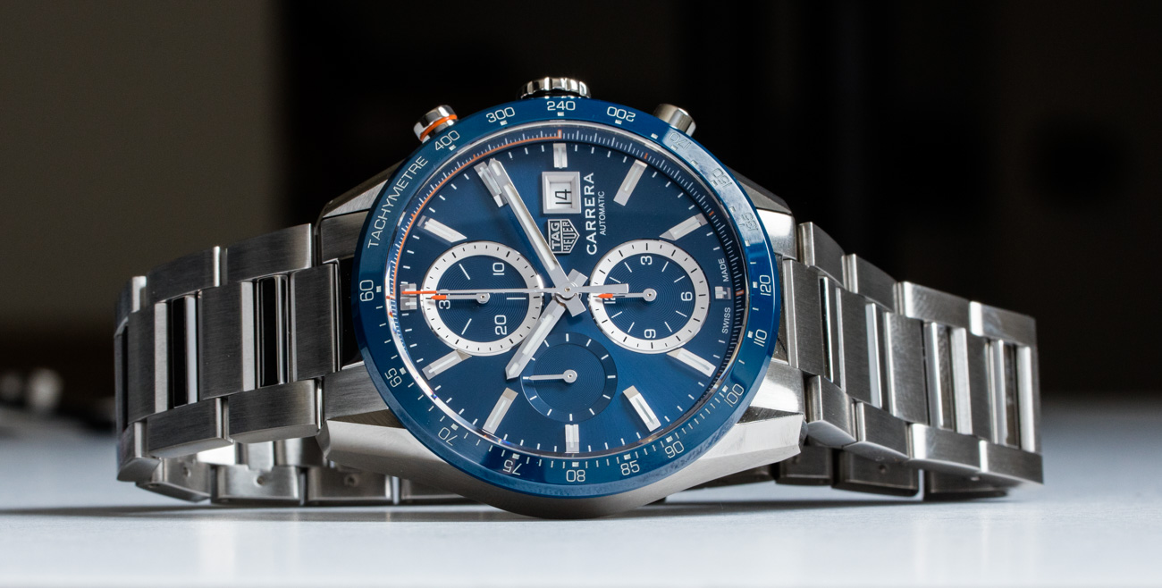 TAG Heuer Carrera 41mm Blue Replica Watch Review
