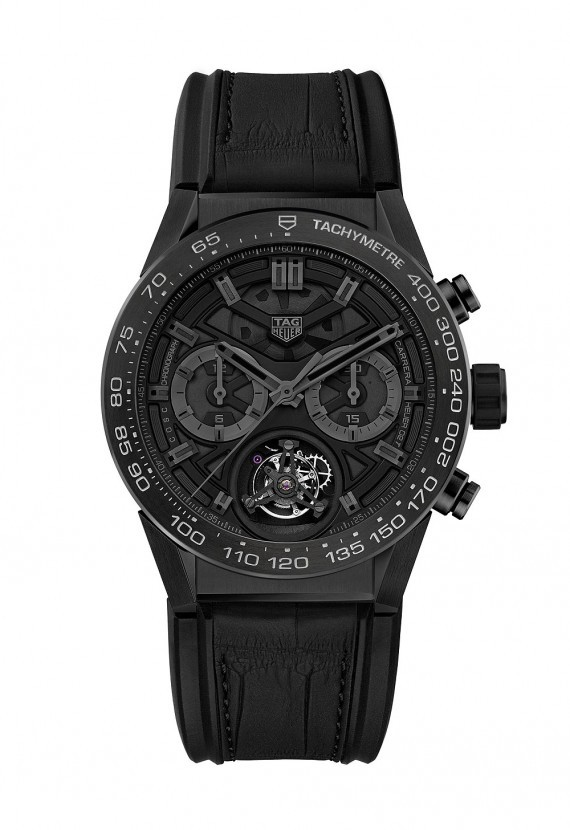 Inside TAG Heuer's Tourbillon Chronograph, the Carrera Heuer-02 T