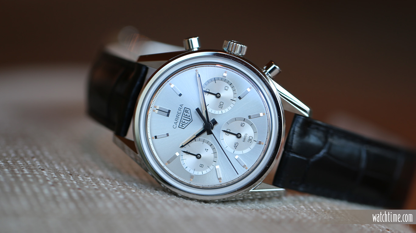 Replica TAG Heuer the Carrera Silver Edition