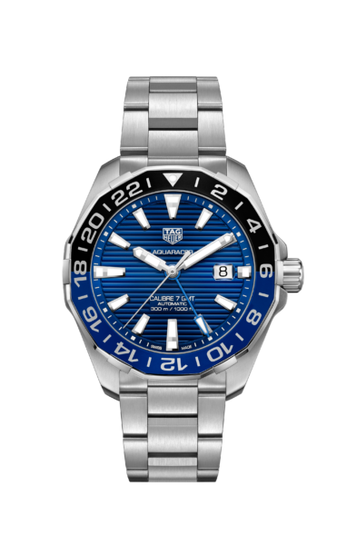 TAG Heuer Replica Goes Black and Blue with the New Aquaracer GMT