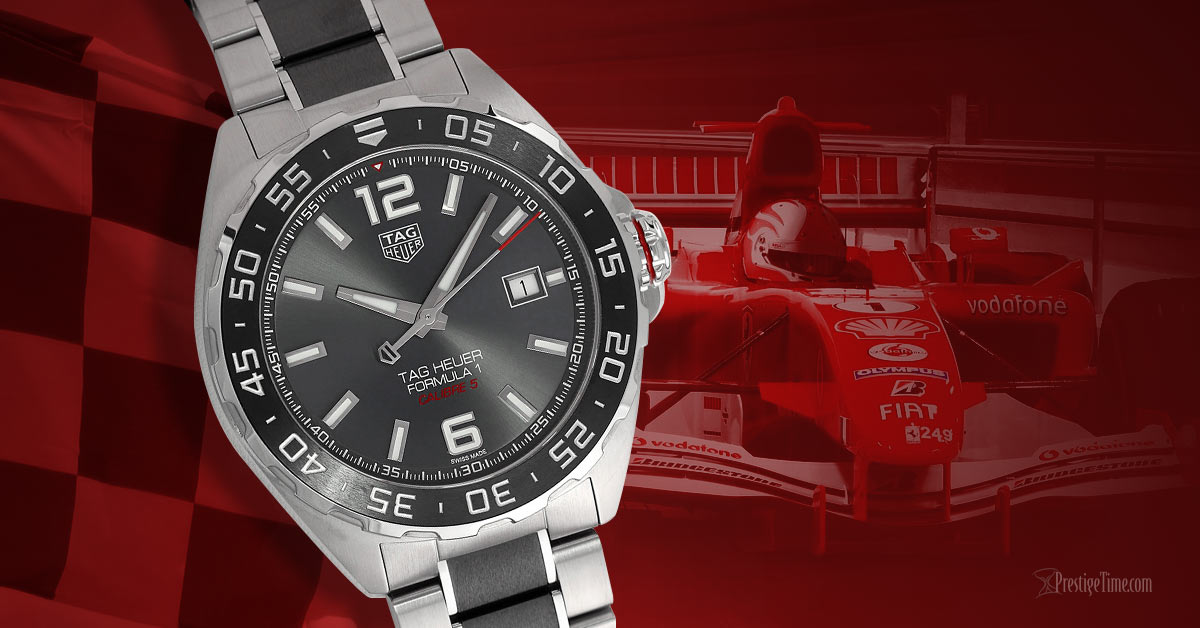 TAG Heuer Formula 1 Automatic 43mm Replica Watch