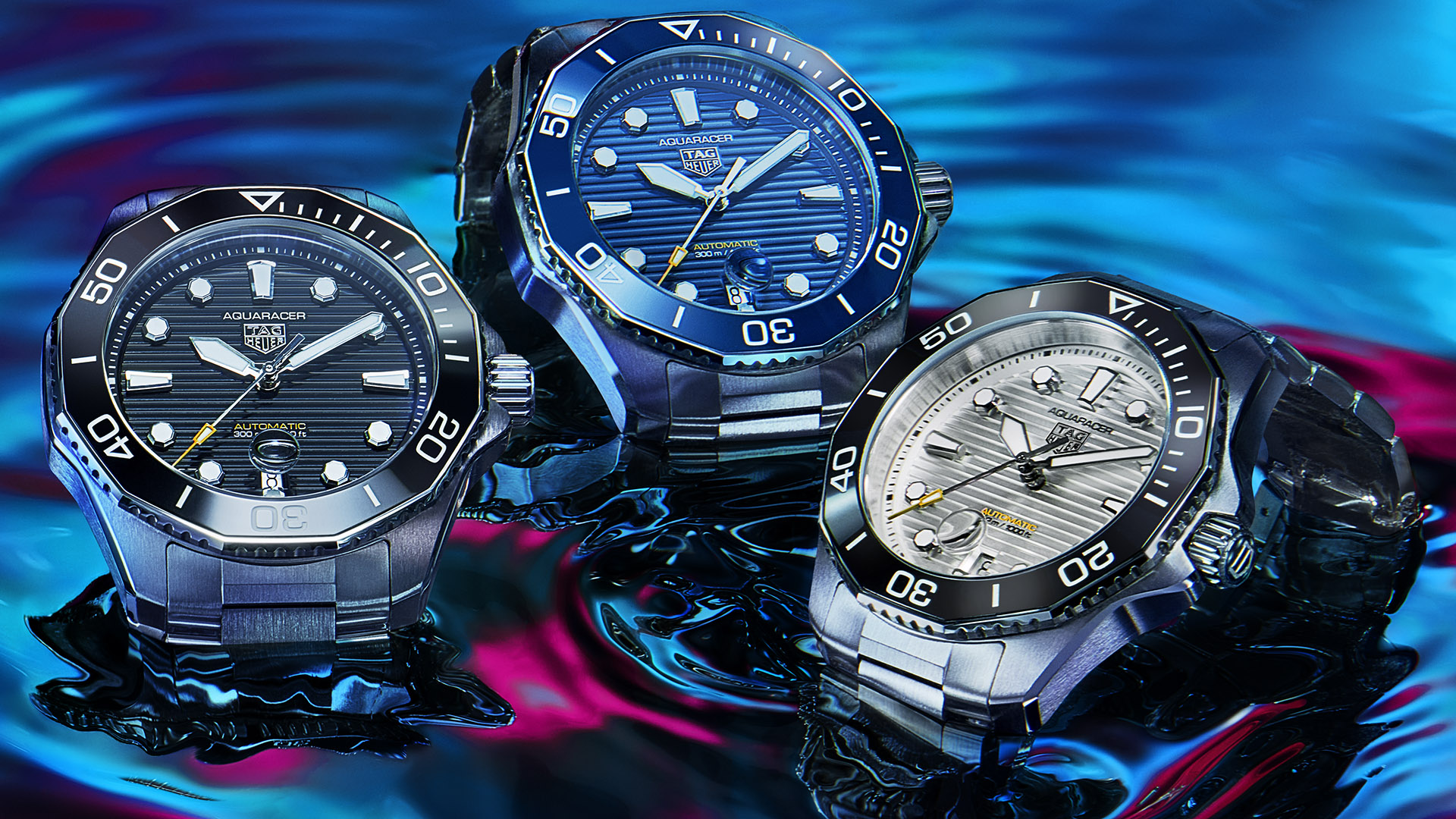TAG Heuer Announces Aquaracer Professional 300 Replica Watch