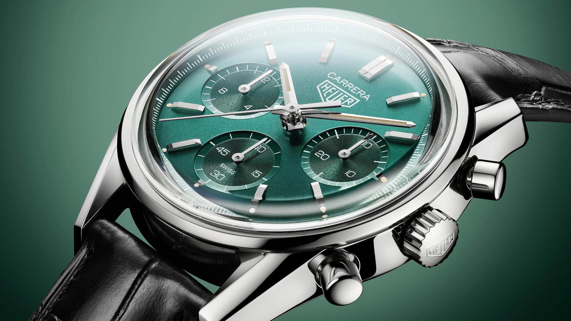 Best TAG Heuer Replica Unveils Carrera Green Special Watch