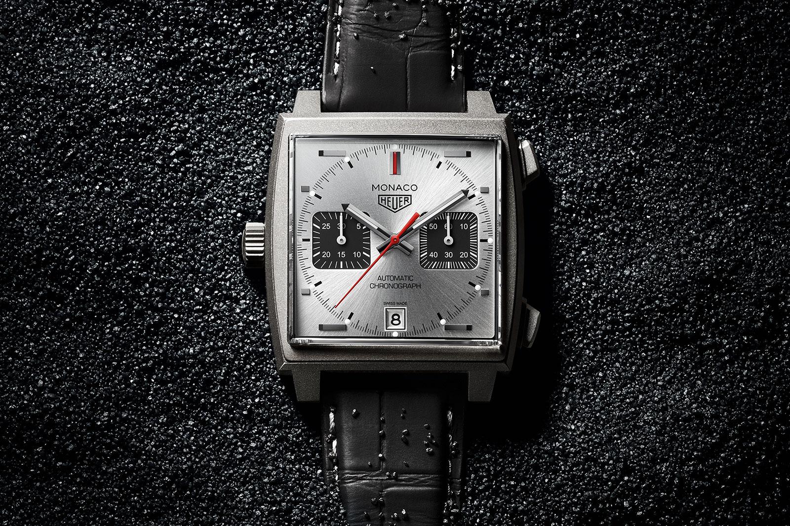 TAG Heuer Monaco Titan Replica Watch with folding clasp
