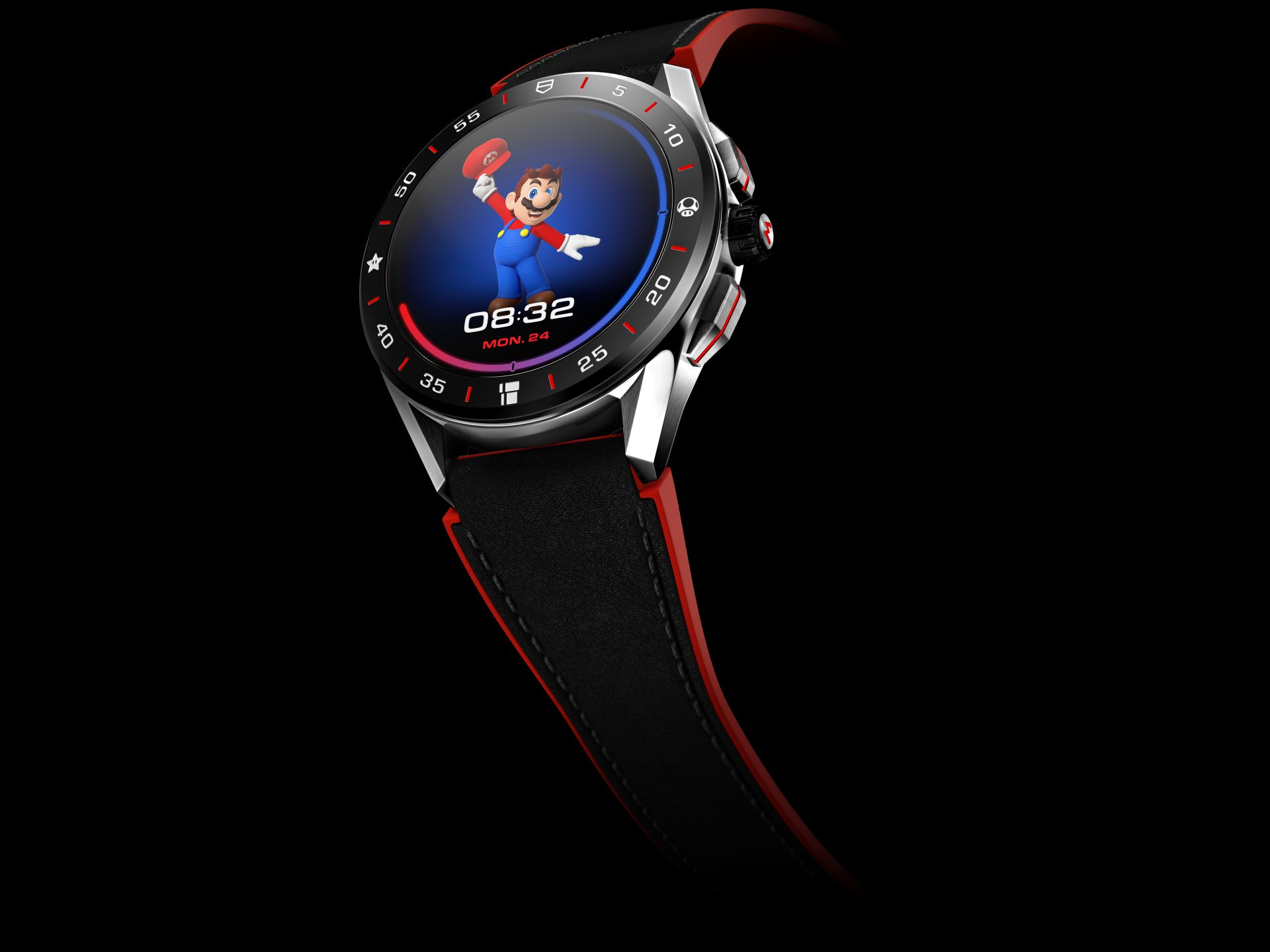 TAG Heuer Connected X Super Mario Replica Watch